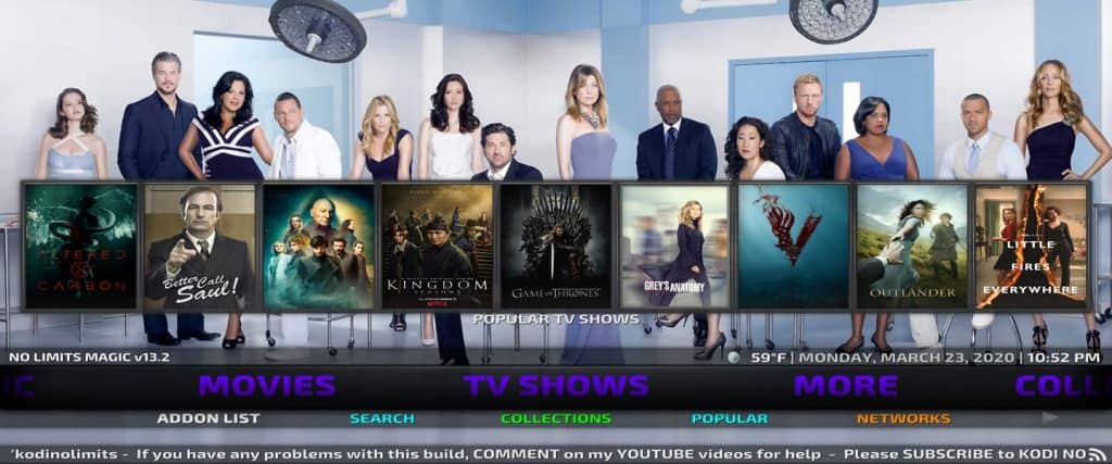 free tv show streams when you jailbreak kodi firestick with no limits magic build