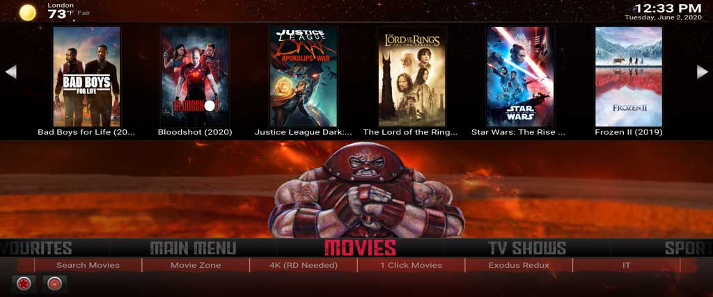 juggernaut kodi build from supreme builds wizard